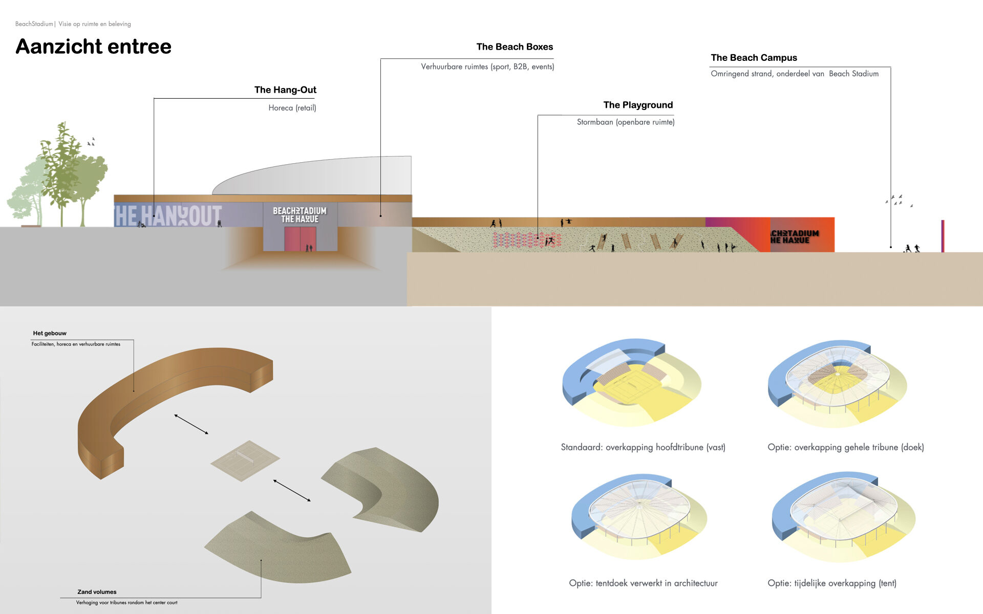 Beach Stadium Den Haag DAY Creative Strategic Consultancy Experience Concepts Brand Design Architecture