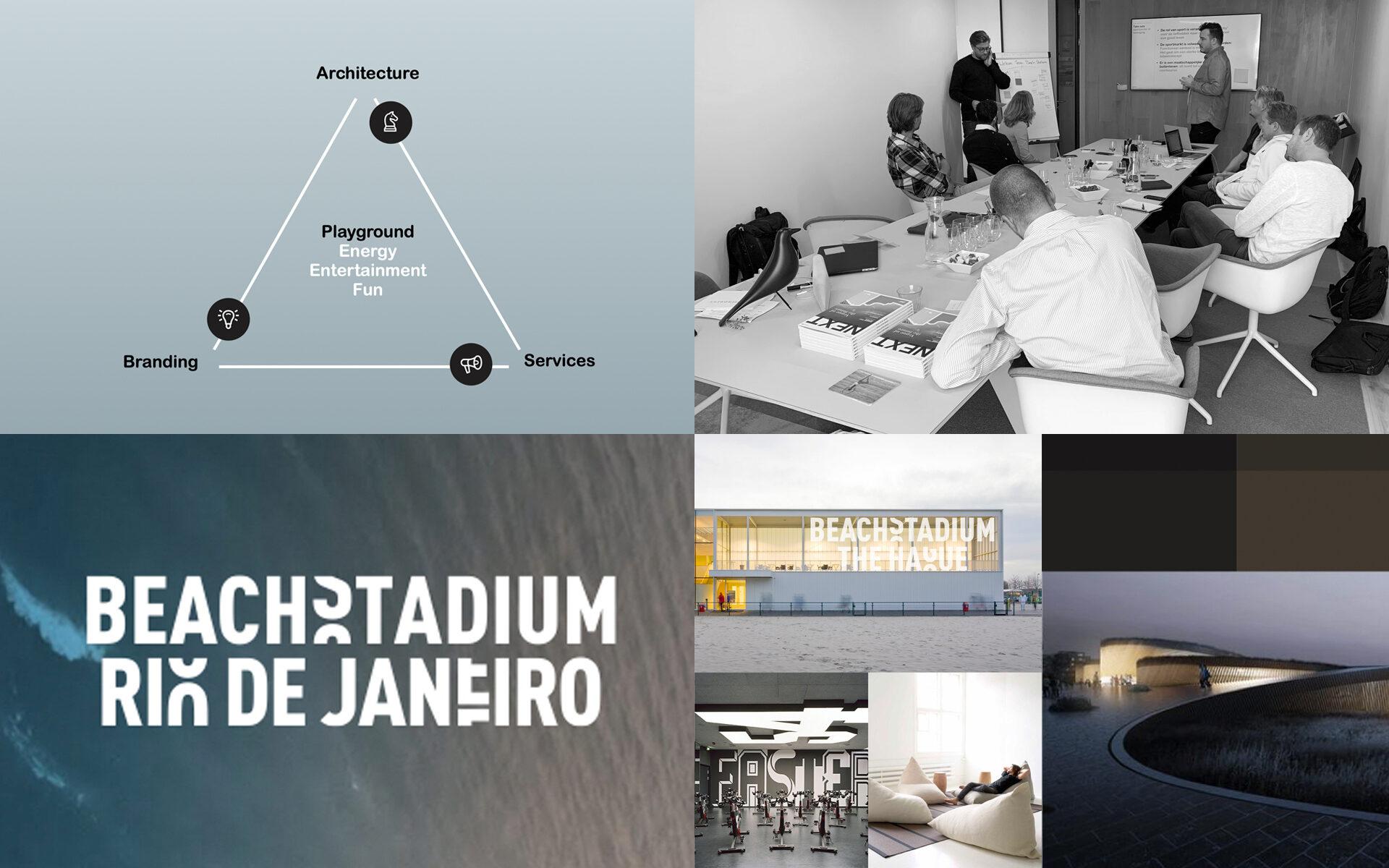 Beach Stadium Den Haag DAY Creative Strategic Consultancy Experience Concepts presentation