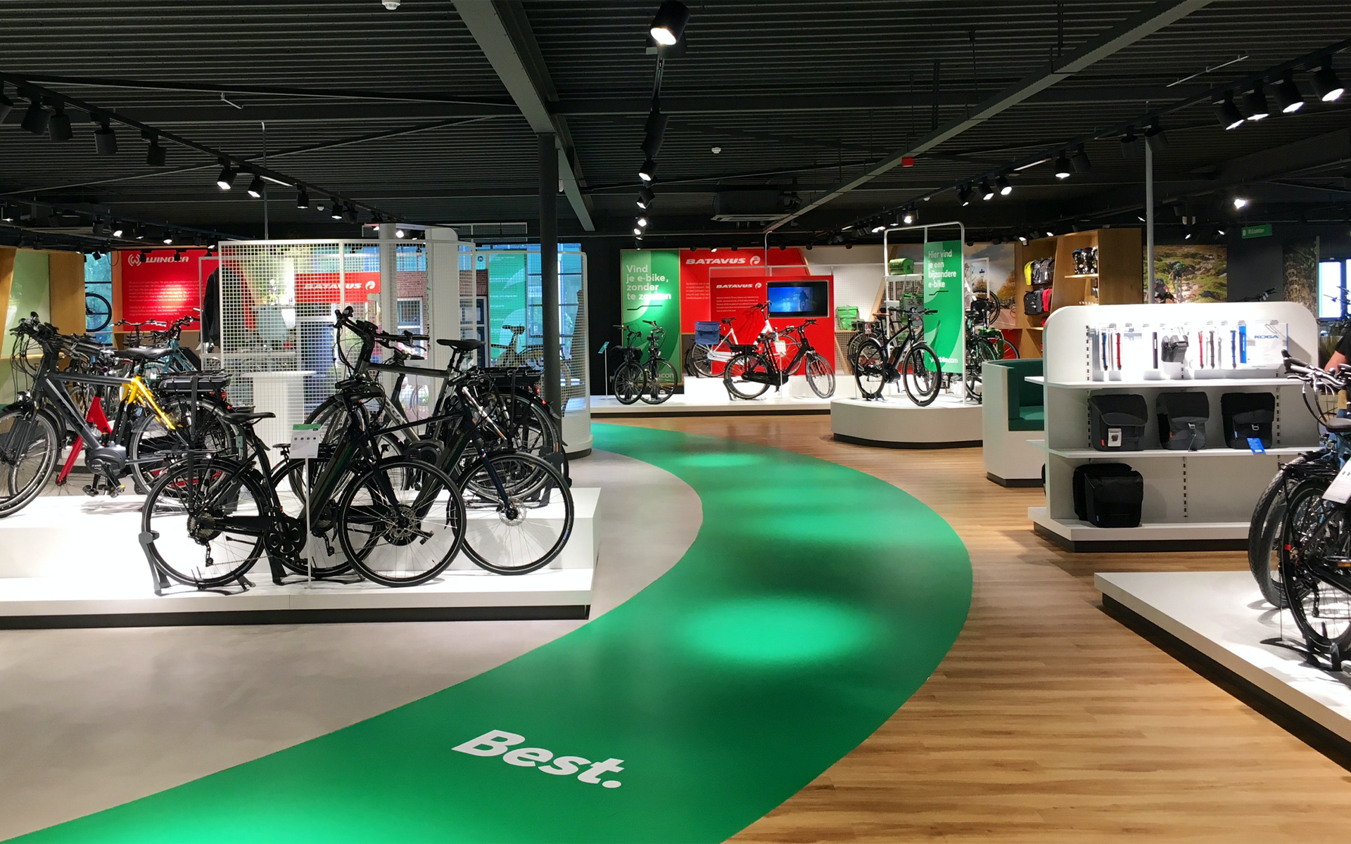 ACCELL your bike.com store Experience Concept Spatial & Interior Design DAY