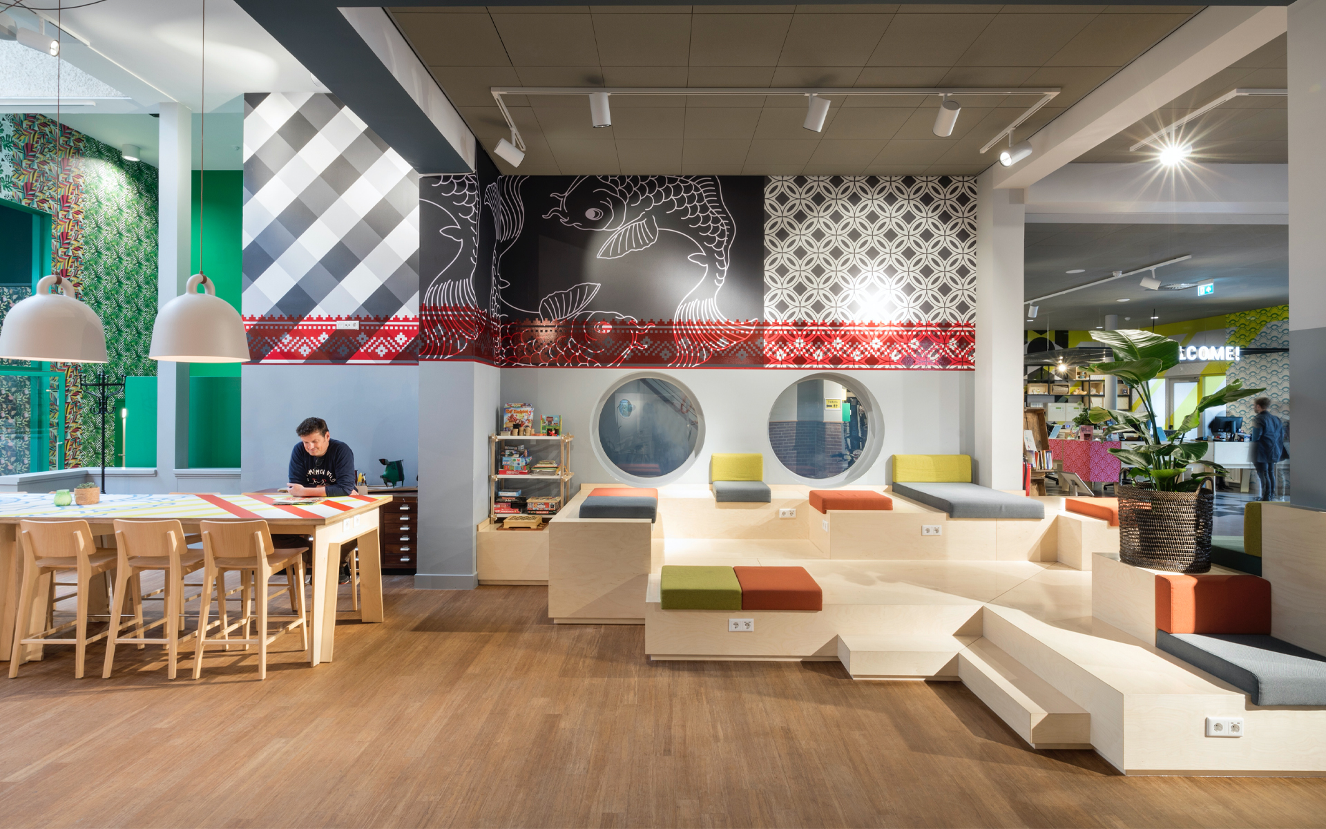 Stayokay Oost hostel Vision on Space and Experience