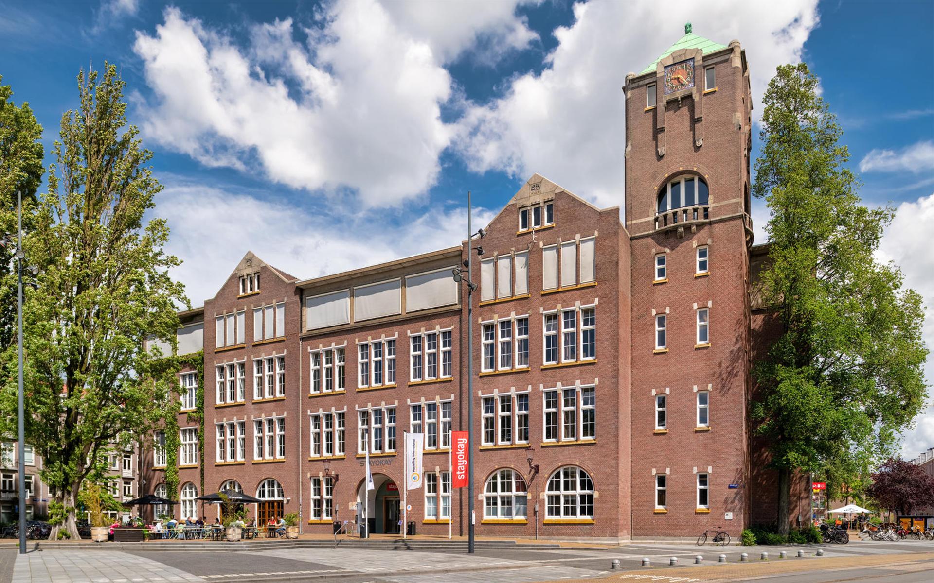 Stayokay Oost hostel Spatial & Interior Design building Amsterdam