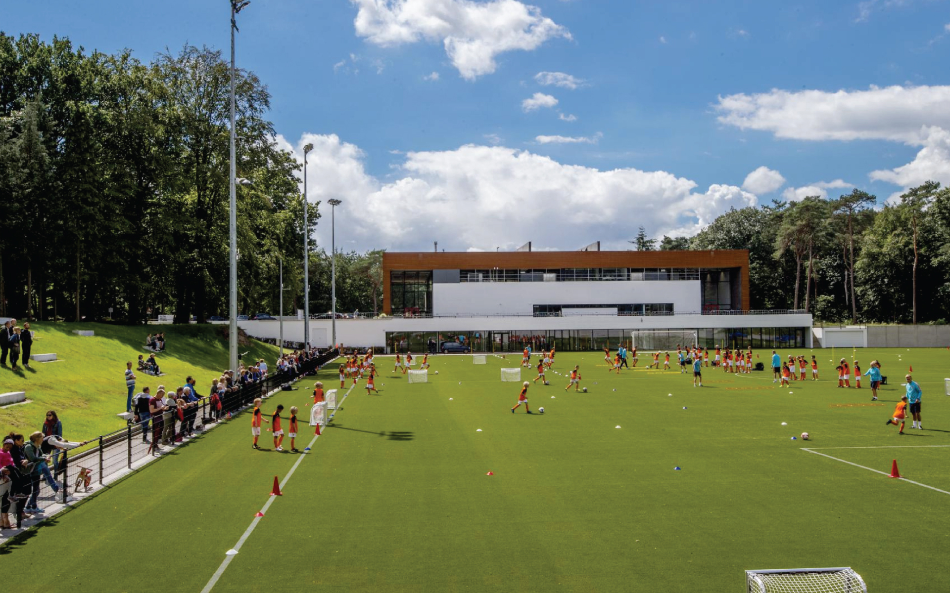 KNVB Campus Zeist DAY Creative soccer field Vision on brand and experience