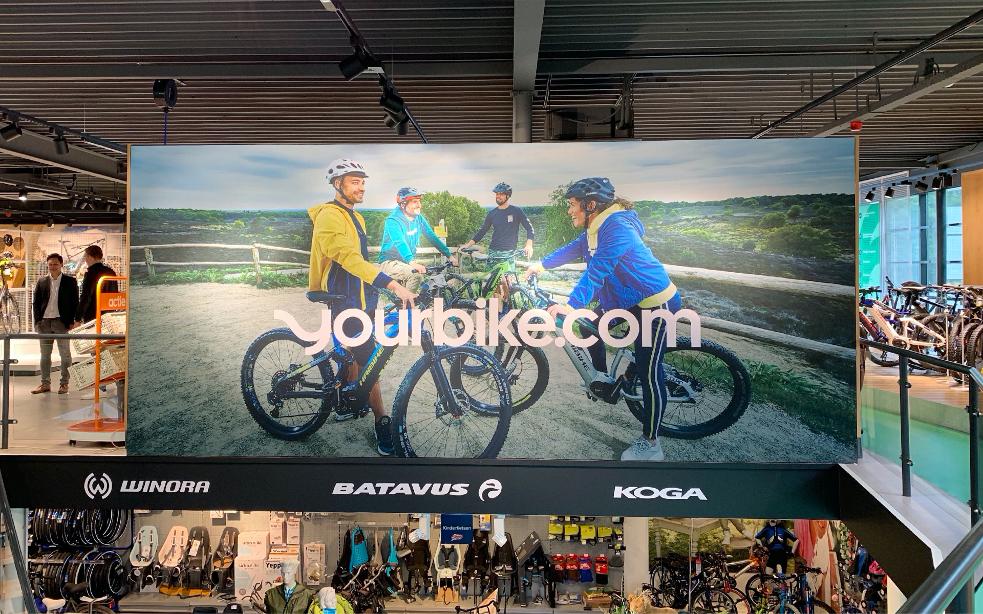 Accell - Yourbike store store banner