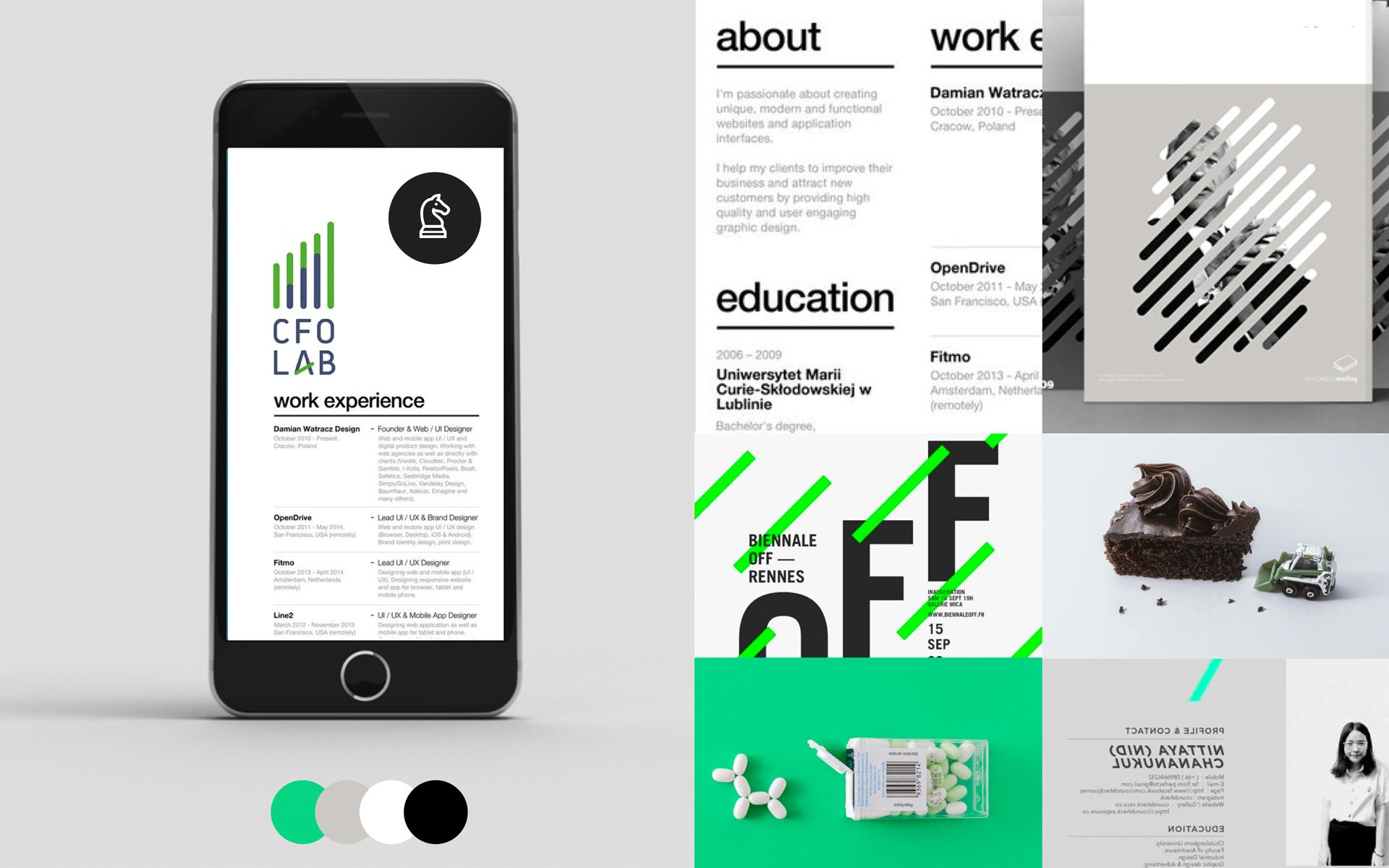 CFO lab Strategic Consultancy Brand Design DAY Creative identity design case