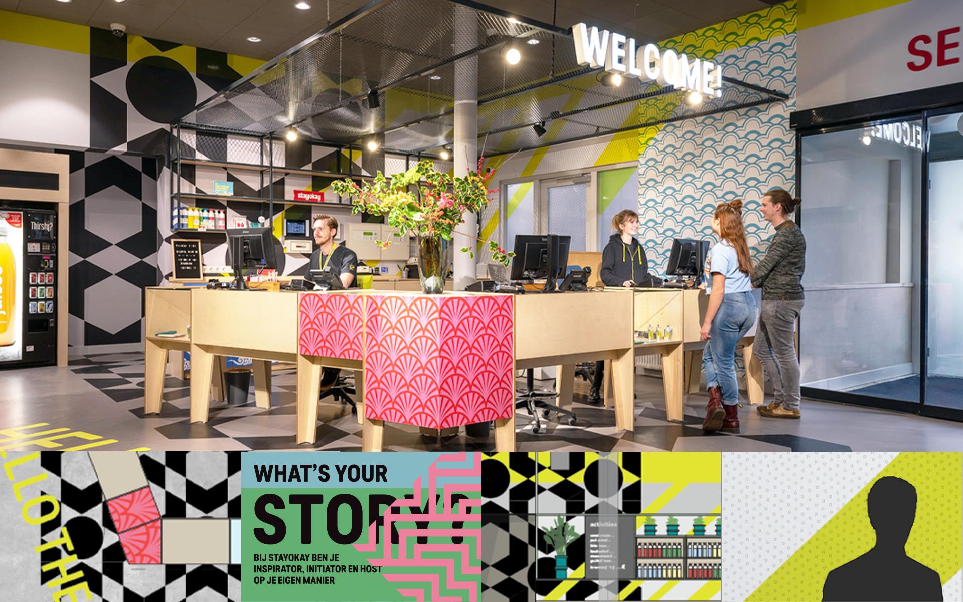 Stayokay Oost hostel Experience Concept Spatial & Interior Design dorm room Amsterdam