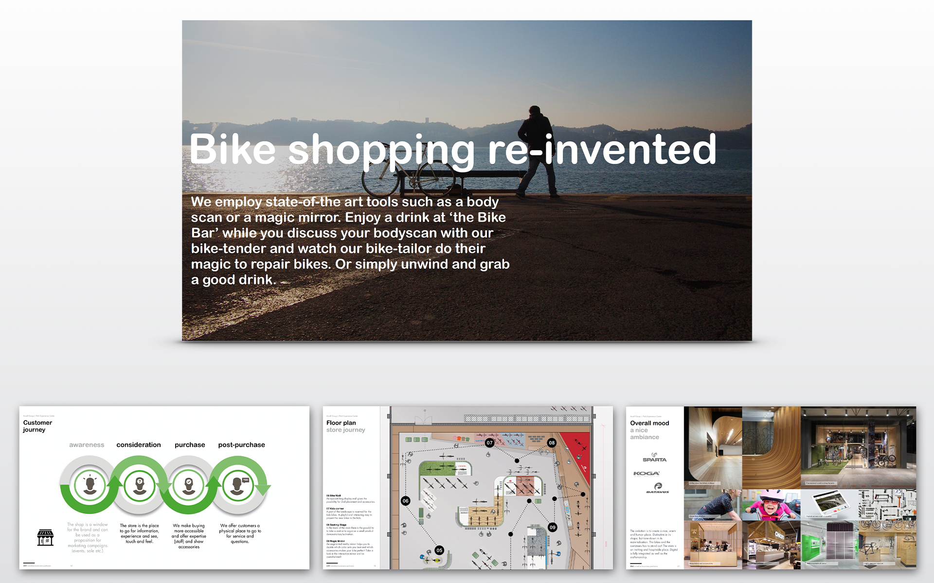 ACCELL your bike.com strategy Experience Concept Spatial & Interior Design DAY