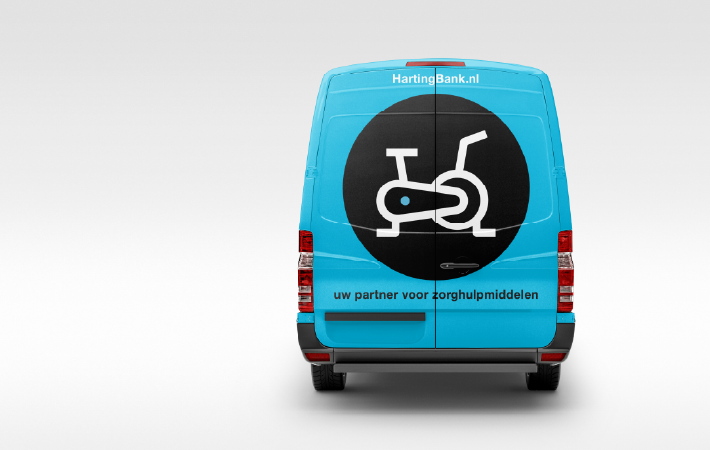 DAY Creative Brand Design service pagina HartingBank iconen
