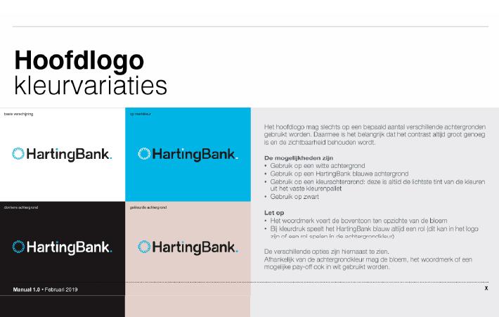 DAY Creative Brand Design service pagina HartingBank visueel concept