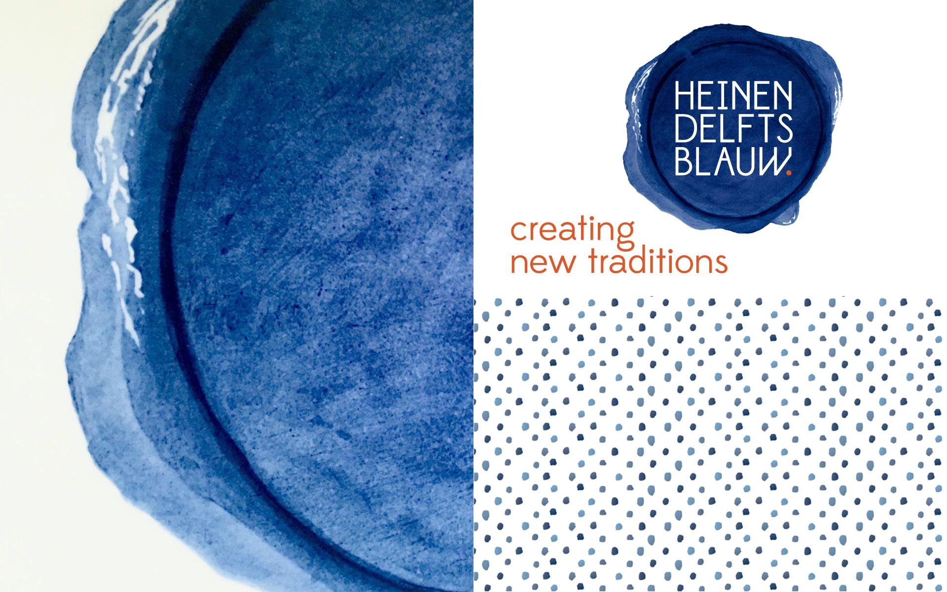 Heinen Delfts Blauw DAY Creative Brand Design Creating new traditions logo
