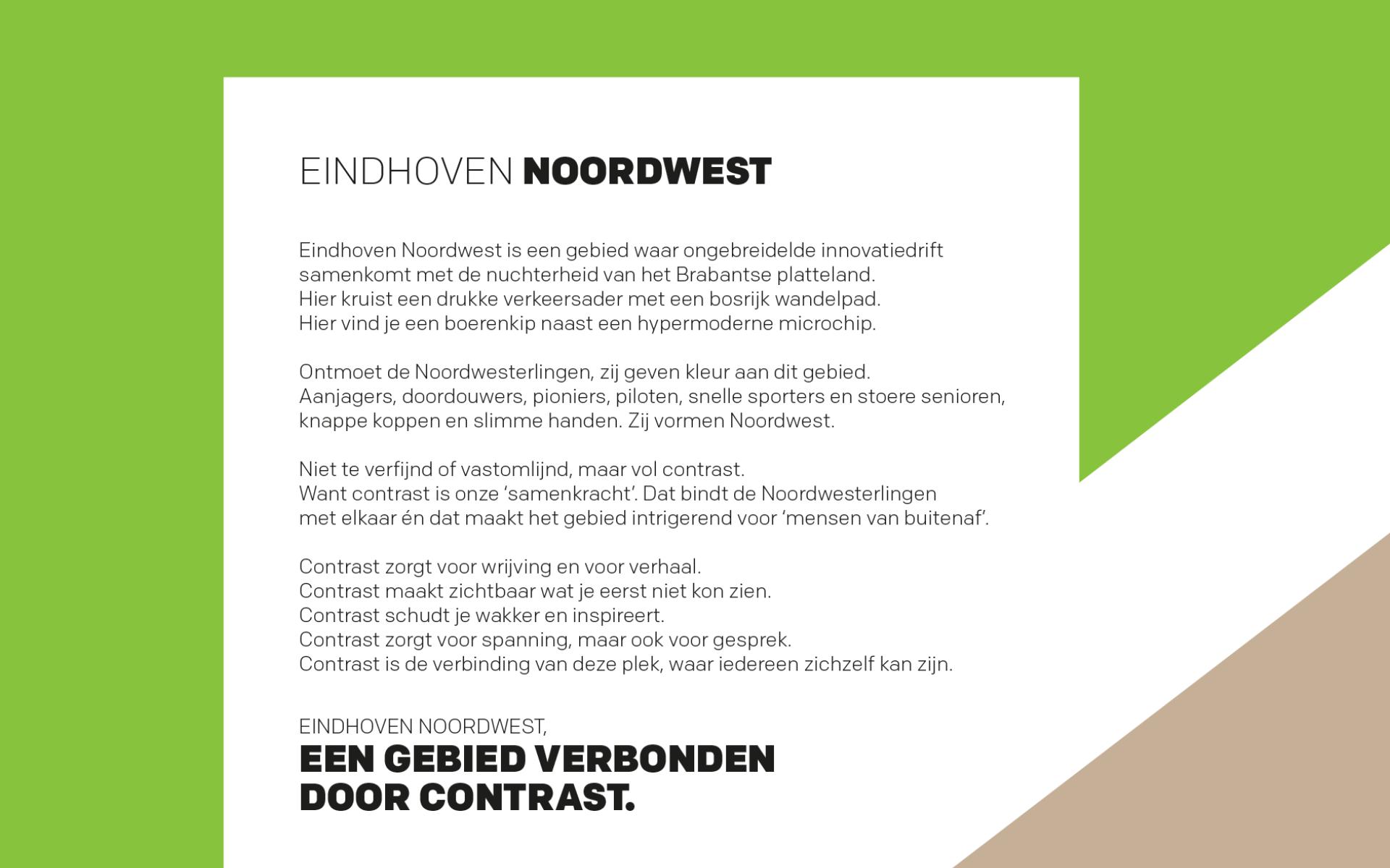 EHNW Eindhoven Noord West gemeente municipality brand design by DAY Creative visual identity chicken