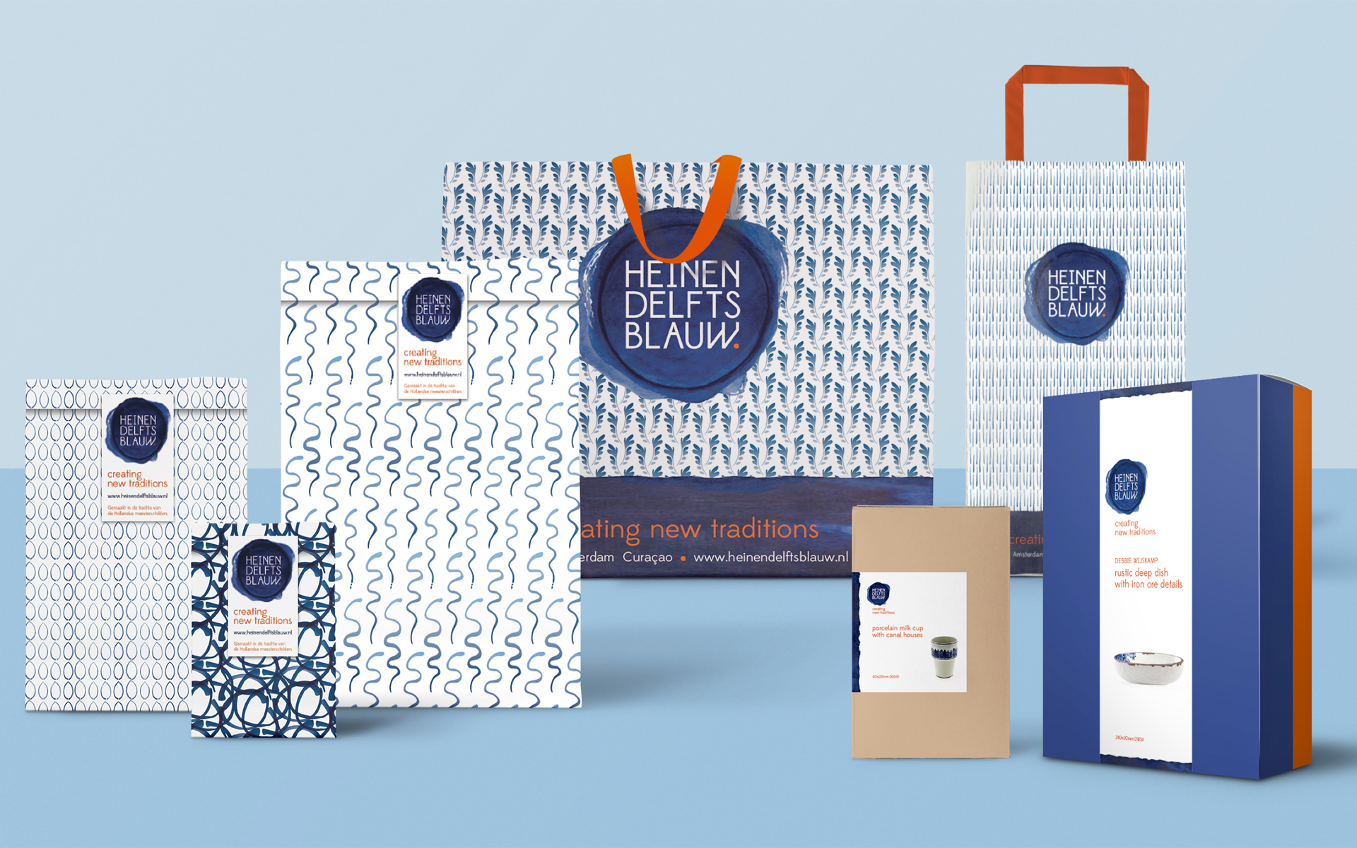 Heinen Delfts Blauw DAY Creative Brand Design Creating new traditions packaging