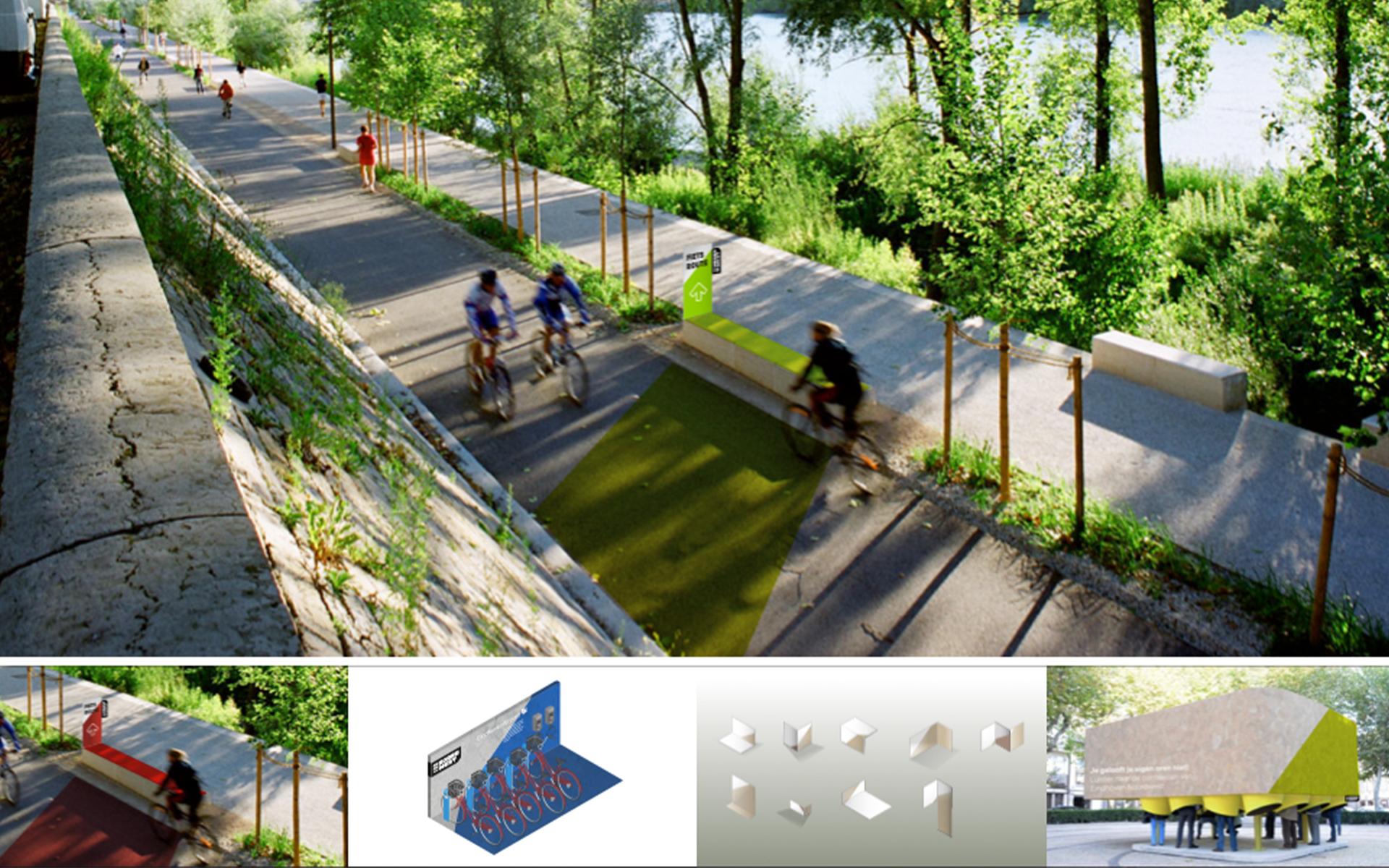 EHNW Eindhoven Noord West gemeente municipality brand design by DAY Creative visual identity presentation