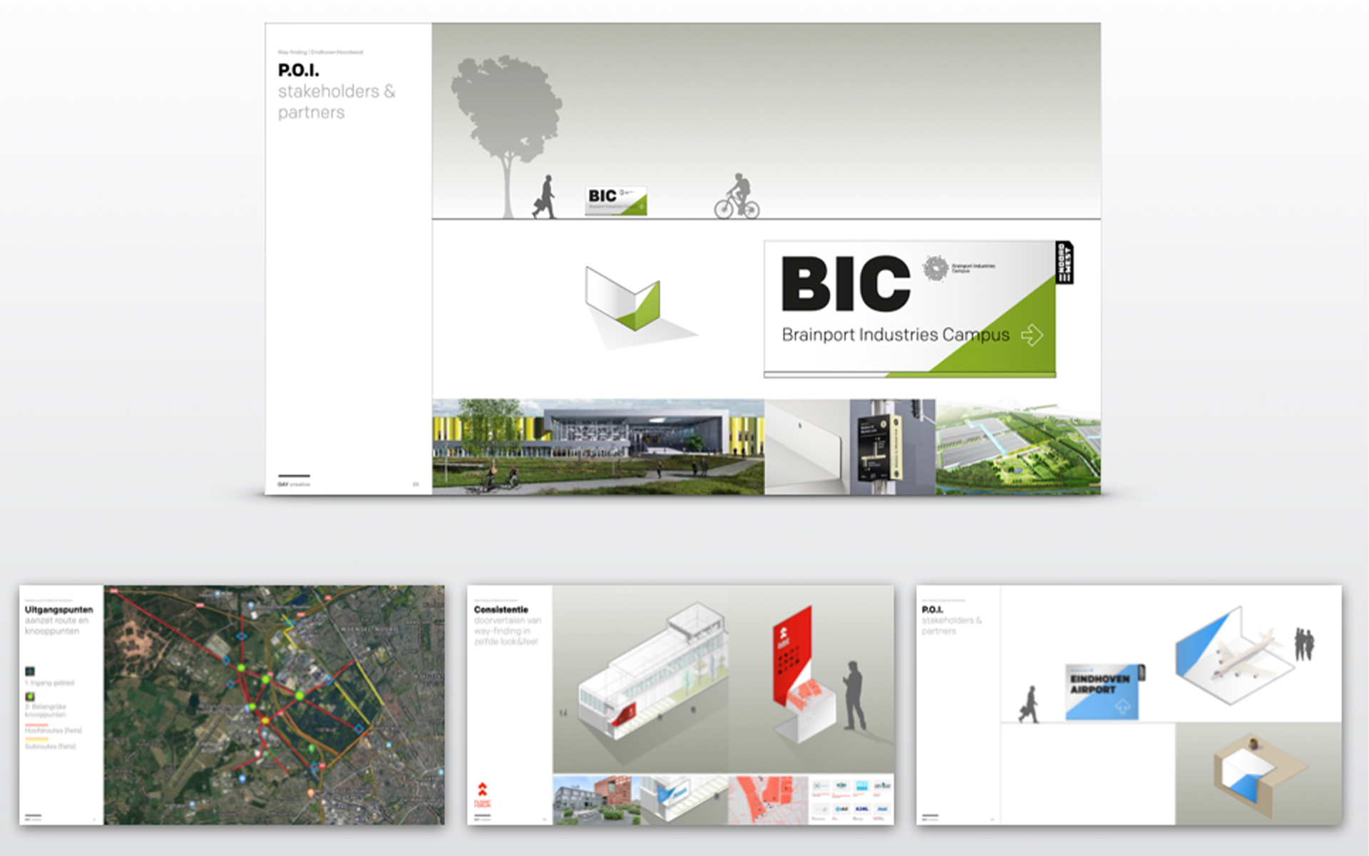 EHNW Eindhoven Noord West gemeente municipality brand design by DAY Creative visual identity stakeholders