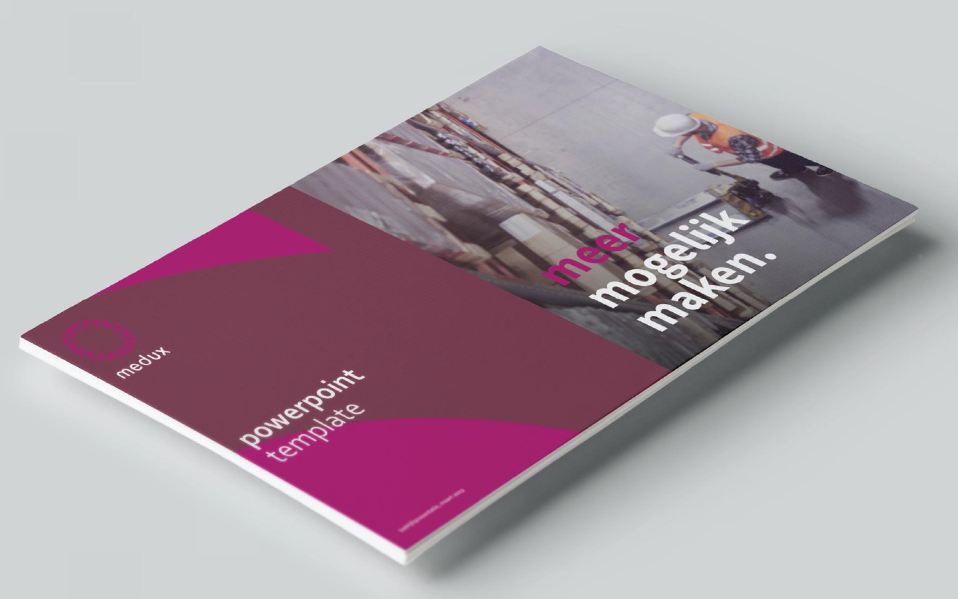 Medux cover brand book DAY Creative Strategic Consultancy / Brand Design