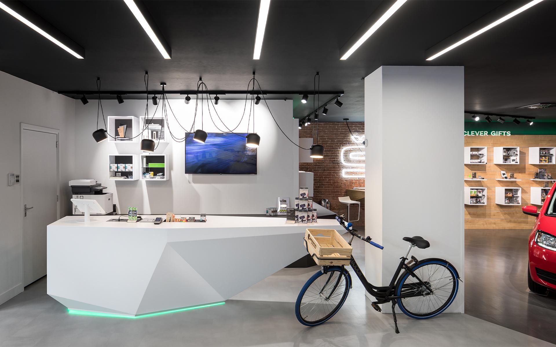 Skoda bike DAY Creative Spatial & Interior Design / Brand Design
