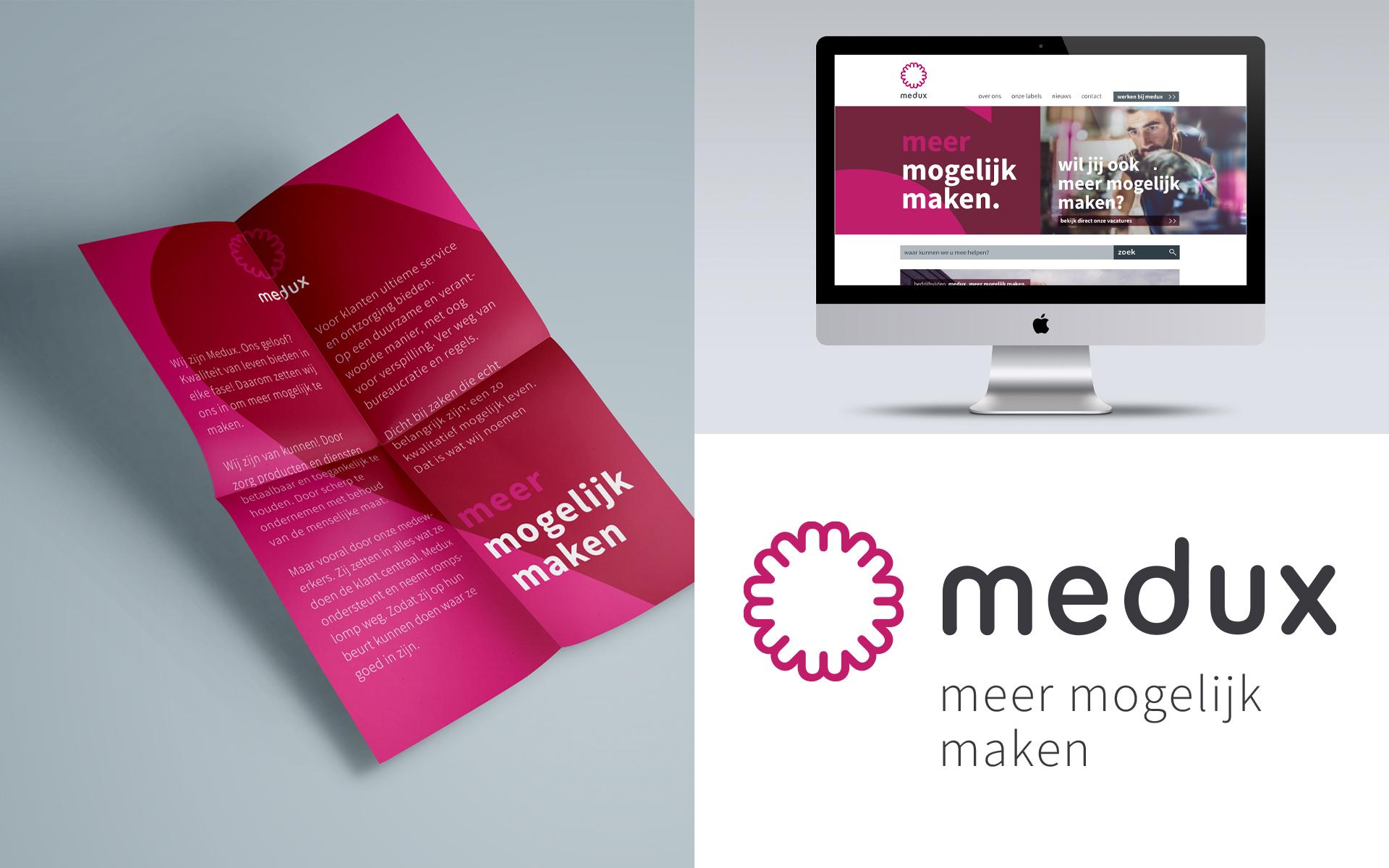 Medux merchandise DAY Creative Strategic Consultancy / Brand Design