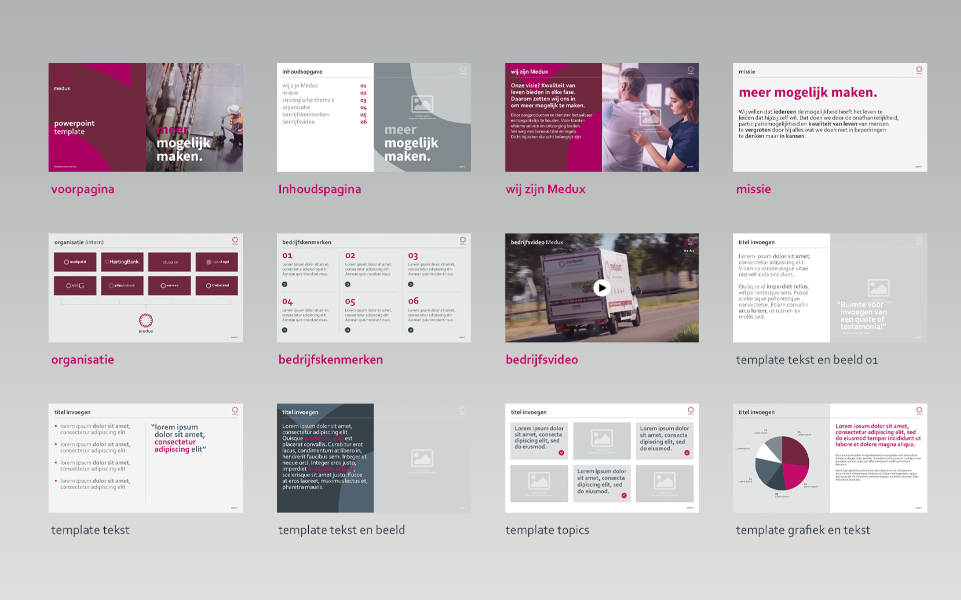 Medux visual style DAY Creative Strategic Consultancy / Brand Design