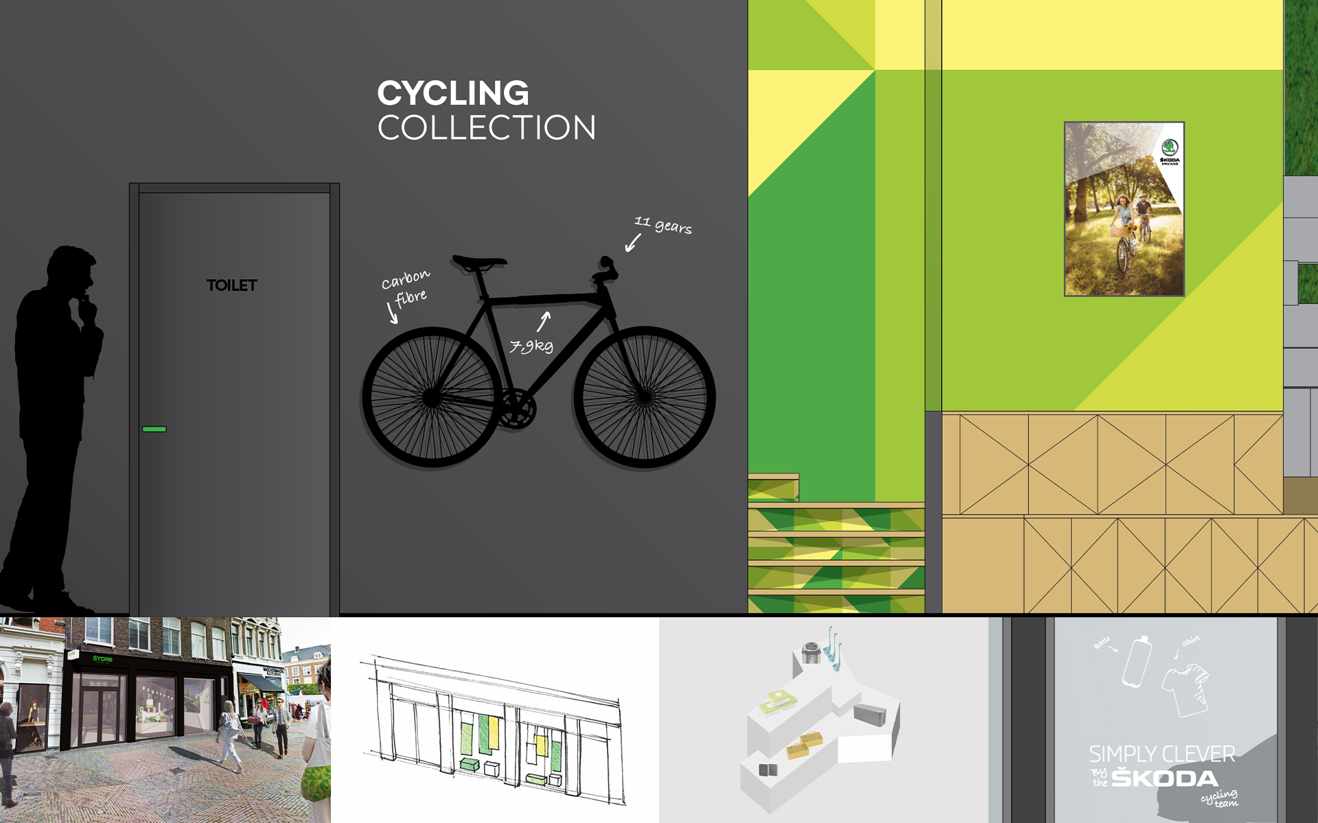Skoda cycling DAY Creative Spatial & Interior Design / Brand Design