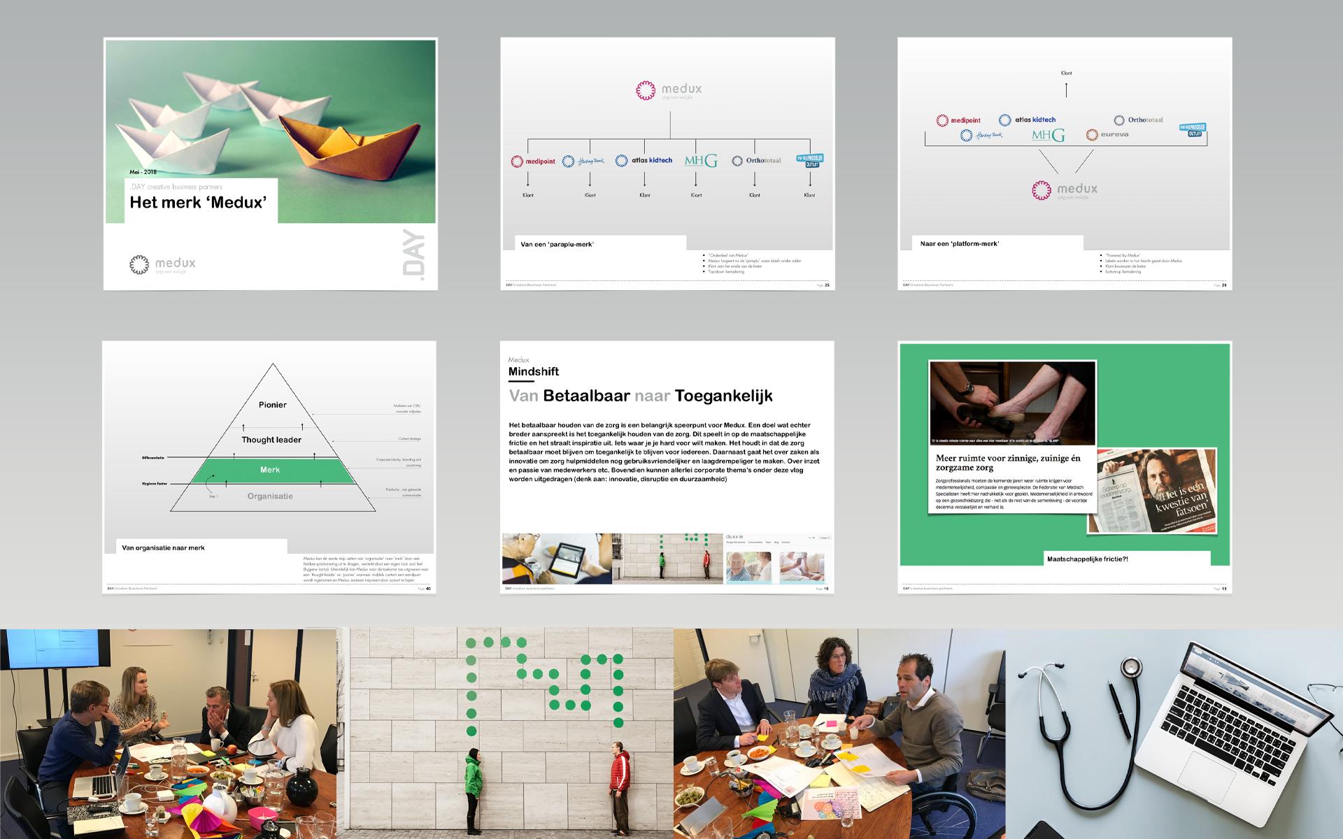 Medux DAY Creative Strategic Consultancy / Brand Design