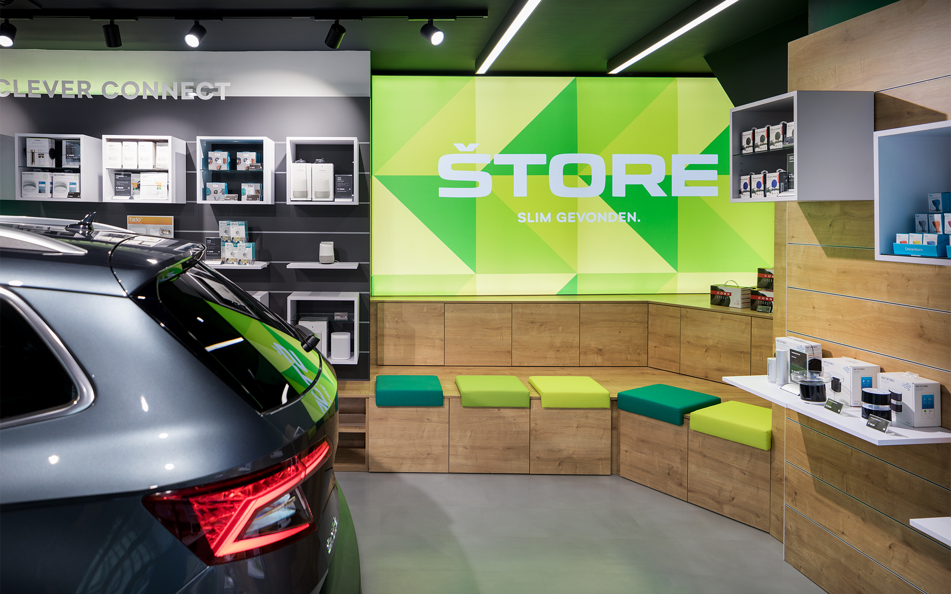 Skoda store strategy DAY Creative Spatial & Interior Design / Brand Design