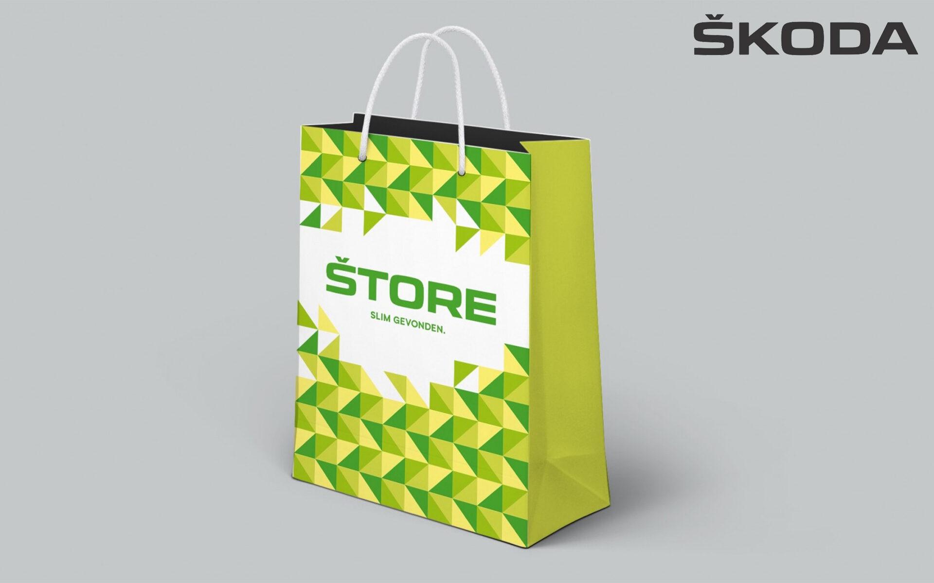 Skoda Merchandise bag DAY Creative Brand Design