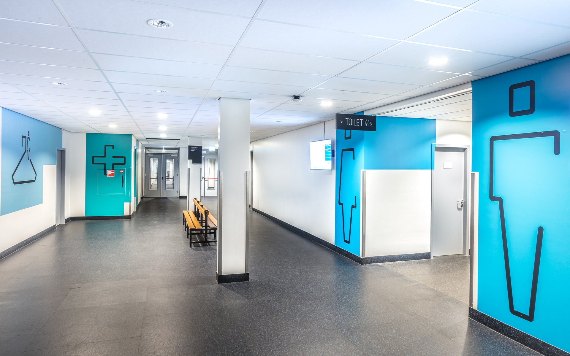Thialf Stadion DAY Creative Experience concept spatial and interior design wayfinding signage