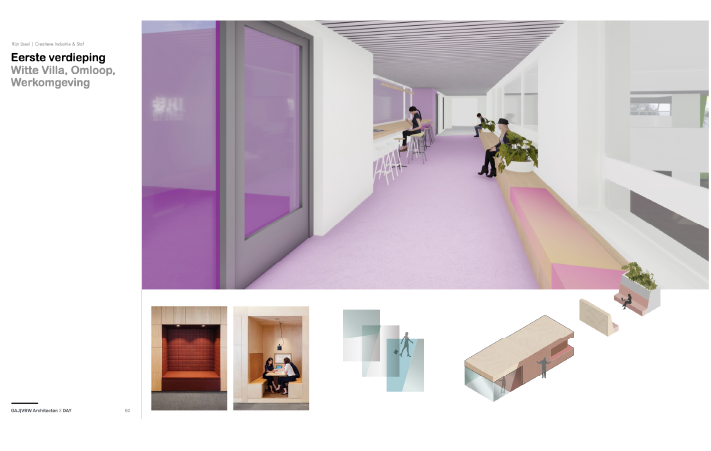 Spatial and Interior Design DAY Creative render