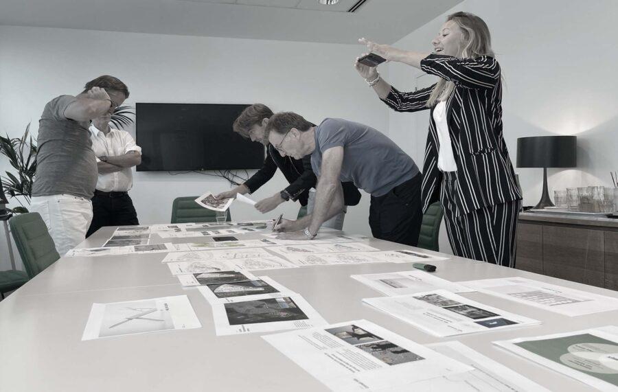 Team professionals DAY Creative strategy workshop session Frederique Bontje Arjan Richter